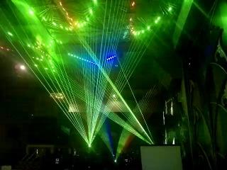 Лазерное шоу на семинаре Pangolin Tour EU 2014, который состоялся в Москве 30 марта 2014 года.
