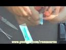 Как сделать водяной пистолет из зажигалки